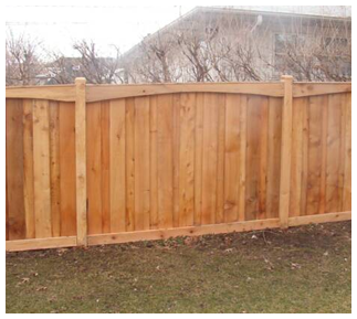Wooden Fence in Arlington Heights, IL