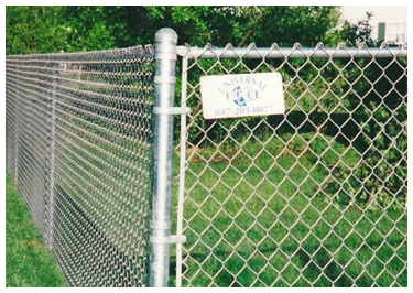 Chain-Link Fence in Arlington Heights, IL